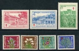 Belgie, obp 834/40, xx