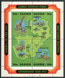 Zambia, michel blok 2 , xx