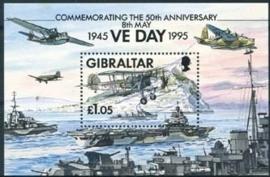 Gibraltar , michel blok 21 , xx