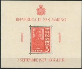 San Marino , michel blok 3 , xx