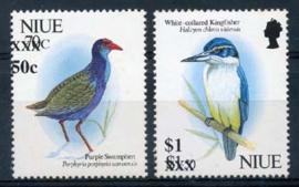 Niue, michel 857/58, xx