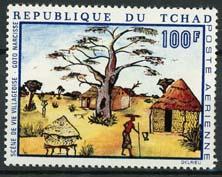 Tchad, michel 288, xx