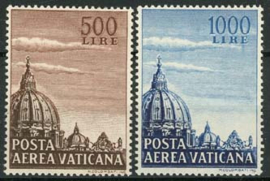 Vatikaan, michel 205/06, xx