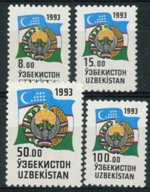 Uzbekistan, michel 30/33, xx