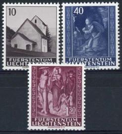 Liechtenstein, michel 445/47, xx