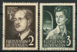 Liechtenstein, michel 332/33, o