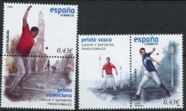 Spanje, michel 4315/16 zf, xx