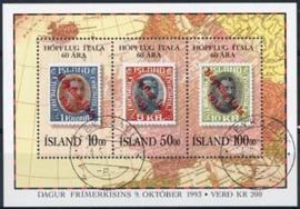 IJsland, michel blok 14, o