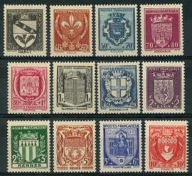 Frankrijk, michel 538/49, xx