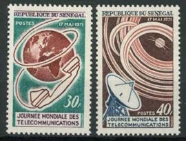 Senegal, michel 456/57, xx
