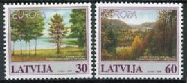 Letland, michel 496/97, xx
