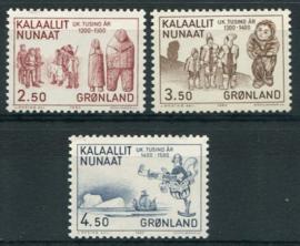 Groenland, michel 143/45, xx
