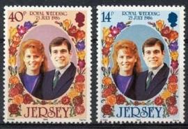 Jersey, michel 386/87, xx