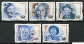 Turkije, michel 2975/79, xx