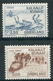 Groenland, michel 131/32, xx