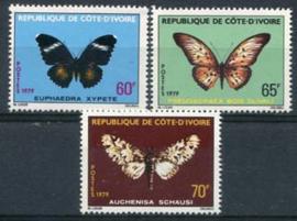 Ivoorkust, michel 594/96, xx
