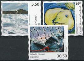Groenland, michel 506/08, xx