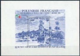 Polynesie, michel blok 11, xx