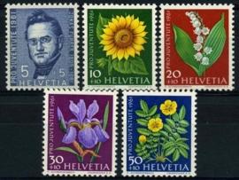 Zwitserland, michel 742/46,xx