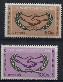 Cyprus, michel 256/57, xx