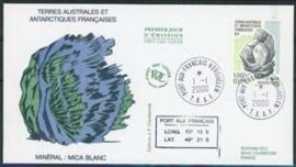 Antarctia Fr., FDC michel 416