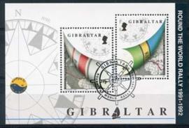 Gibraltar, michel blok 17, o