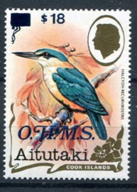 Aitutaki, michel dienst 41, xx