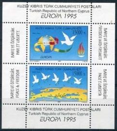 Turks Cyprus, michel blok 14, xx