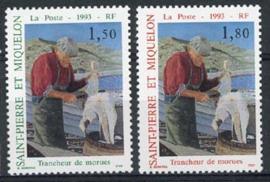St.Pierre, michel 652/53, xx