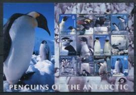 Br. Antarctic Terr., michel kb 369/80, xx