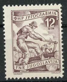 Joegoslavie, michel 722, xx