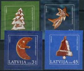 Letland, michel 687/90, xx