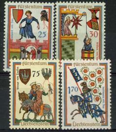 Liechtenstein, michel 433/36, xx
