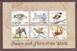Tanzania, michel 2983/88, xx