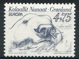Groenland, michel 309, xx