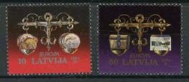 Letland, michel 376/77, xx