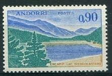 Andorra Fr., michel 234, xx