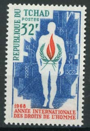 Tchad, michel 217, xx