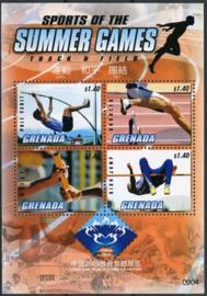Grenada, michel kb 6141/44, xx