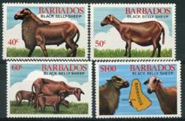 Barbados, michel 547/50, xx