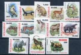 Mozambique, michel 618/29 + 641, xx