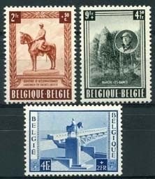 Belgie, obp 938/40, xx