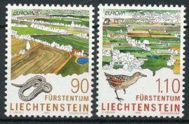 Liechtenstein, michel 1190/91, xx