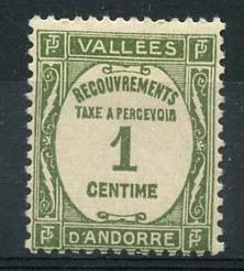 Andorra Fr., michel p16 , x
