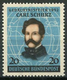 Bundespost, michel 155, xx
