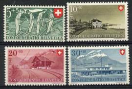 Zwitserland, michel 480/83, xx
