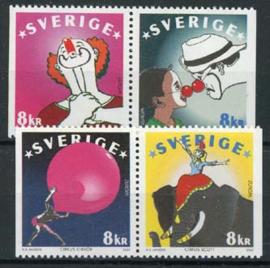 Zweden, michel 2295/98, xx