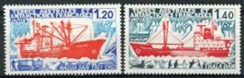 Antarctica Fr., michel 122/23, xx