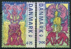 Denemarken, michel 1431/32, xx