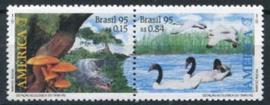 Brazilie, michel 2670/71, xx